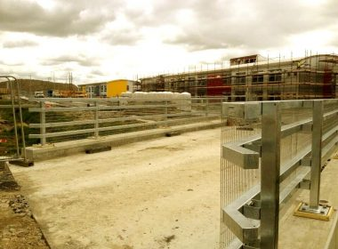 Bridge Parapets at the new state of the art Education Campus in Portlaois