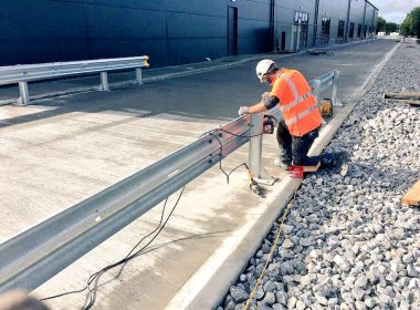 Emtek's project delivery team are completing another phase of safety barrier works at a leading bottling plant in Tullamore #safety https://t.co/QJuhIfVY2w