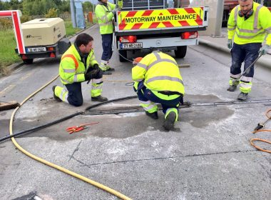Emtek's Material Supply Team are supporting a leading #Motorway Toll Operator this month with our Resi-Bed rapid repair mortars. #service https://t.co/JN5wMfobMe