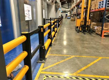 Emtek have completed a #safety improvement project for a leading packaging business in #Leinster, using our iFlex Barriers, Railings & Gates https://t.co/6Qknv83Yj3