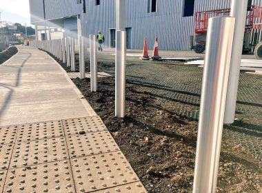 We're installing hundreds of our Antrim range of Stainless Steel #Bollards this week for a client in #Dublin  https://t.co/EEOcNNXA1n https://t.co/jmmadl2Y6a