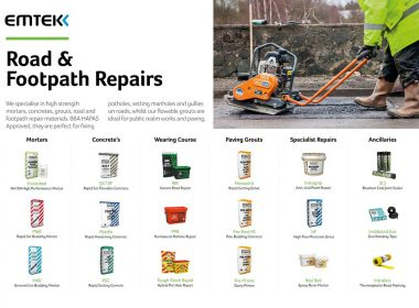 View Emtek's range of Rapid Repair Materials, with next day delivery throughout Ireland:- https://t.co/EEOcNNXA1n #ultracrete #ultrascape https://t.co/7sWoIJlrX5
