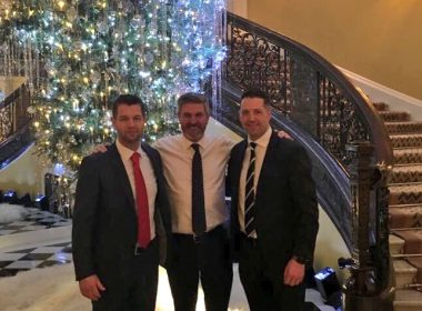 Emtek Directors Garry Archer & Neil McKee in #London with Instarmac Group Director Paul Butcher to review a successful year & plan for 2018. https://t.co/pn8ZgH5z0l