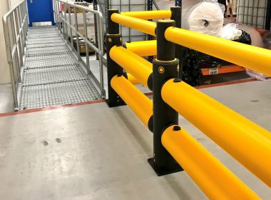 Works are underway to install a sequence of our new #iFlex #Barriers, #Railings & #Bollards at a packaging factory in County Londonderry. Contact us to learn more about our impact resistant iFlex products: https://t.co/EEOcNNXA1n #safety https://t.co/YsULMr85bl