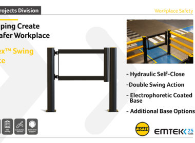 Emtek's iFlex Swing Gates provide acce…