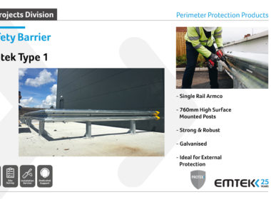Emtek's range of Protek Safety Barrier…