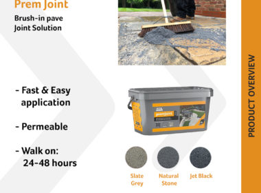 PremJoint is our new Brush-in pave joint…
