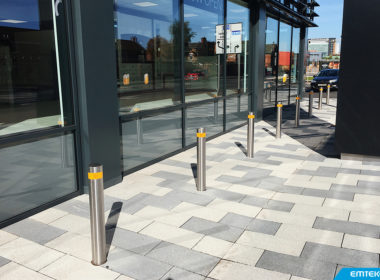 Need bollards? Pictured here are our pop…