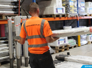 We keep hundreds of bollards in stock in…